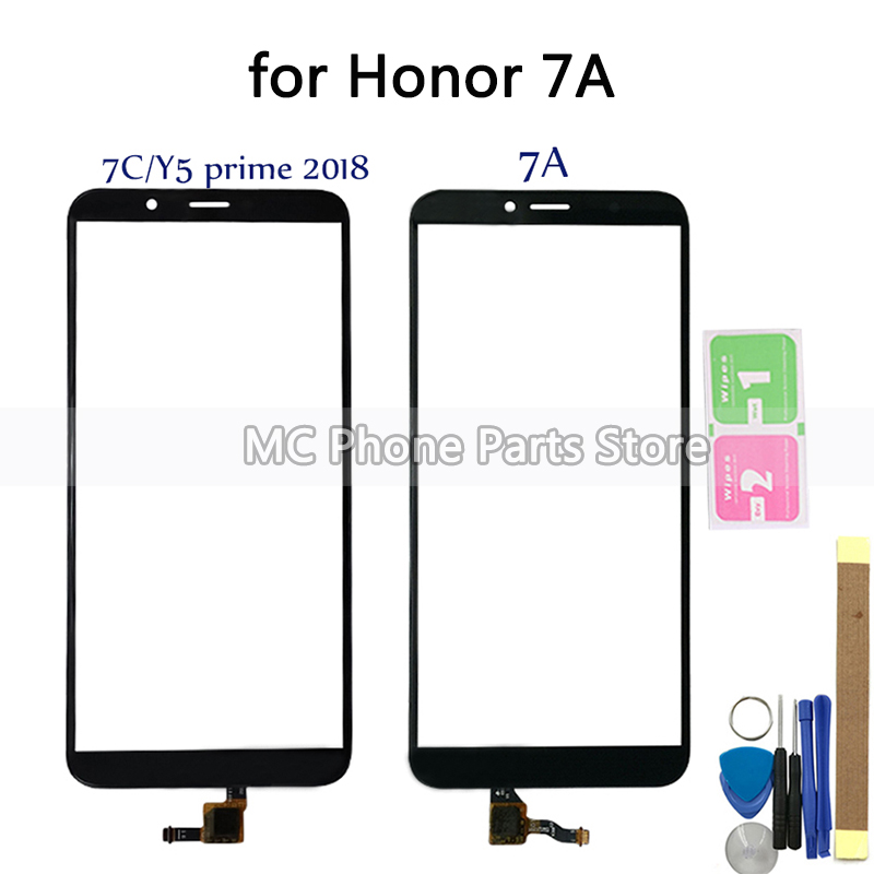 For Huawei Honor 7A Touch Screen Digitizer Honor 7S DUA L02 L22 LX2 For Huawei Y5 Prime 2018 LCD DUA-L22 Screen Replacement