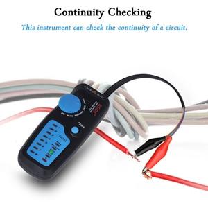 Image 4 - Network cable tracker detecteur BSIDE FWT81 RJ11/45 Lan Ethernet Phone wire tester Finder Telecom Tool electrified work 48V