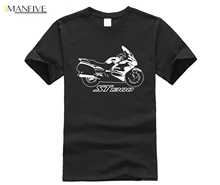 2019 New Summer Tee Shirt Japanese Motorcycle st1300 T Pan European Cool T-shirt