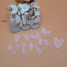 12 шт/компл милый комплект для малышей с капюшоном и принтом