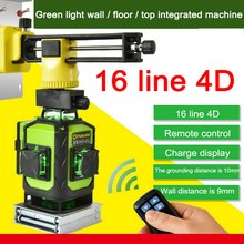 4D MW-94D-4GJ 16 Lines Green Laser Level Powerful Laser Beam Line Self-Leveling 360 Horizontal And Vertical Cross