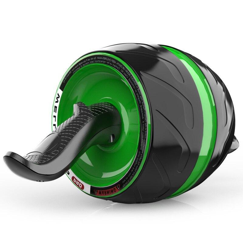 Casa deportes Tambor tipo rueda grande rueda de rodillo de potencia vientre ejercicio rodillo Abdominal entrenamiento Mute Fitness equipo AB más delgado - 4