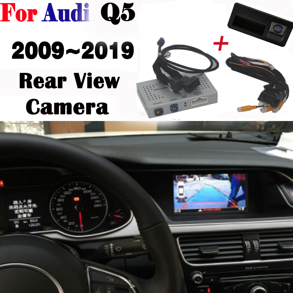Front Rear view Camera For Audi Q5 2009~2019 Interface