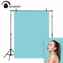 Allenjoy blue photography backdrop abstract smooth solid color photo studio background photophone portrait shooting photocall allenjoy background for photo studio winter forest snow mountain painting backdrop printed photocall portrait shooting