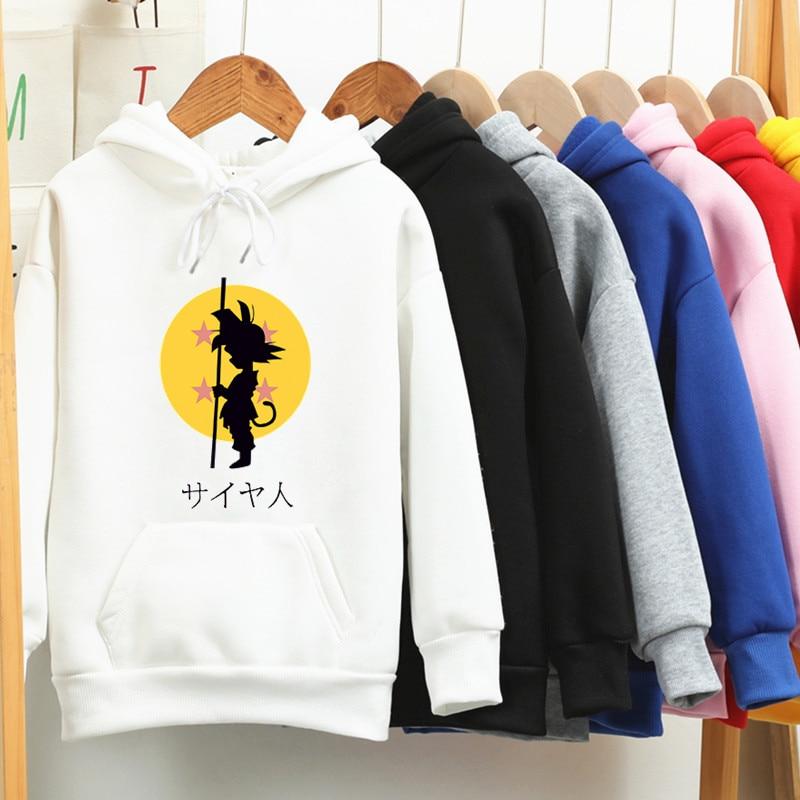 2020 Fashion Sweatshirt Anime Dragon Ball Z Kid Goku Hoodie 3d Print Men Women Pullover Men Hoodies Sweatshirts Autumn Winter