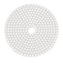 5 дюймов 125 мм влажные Алмазные полировальные колодки мрамор гранит крупы 50