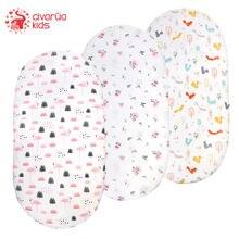 Civarua Детские листочки для люльки ультра мягкие тянущиеся