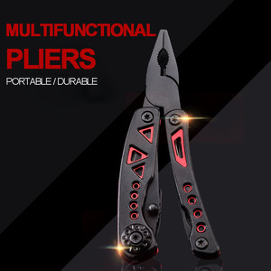 Multi Tool Folding Knife Multi-functional Plier EDC Gear outdoor Camping Survival Knife Fishing Plier Tools Thickened anti-skid