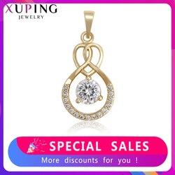 Xuping New Arrival synteza cyrkonia wysokiej jakości wisiorek dla kobiet elegancka biżuteria prezenty rodzinne 35288