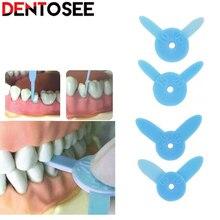4pcs/kit Dental Diastema Measuring Ruler for Tooth Wedge Measurement Tool Orthodontic Interproximal Dentistry Instrument