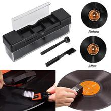 High Quality Vinyl Records Cleaning Kit Turntables Cleaning Rush Set Stylus Velvet Anti-static Cleaner Dust Remover Accessory