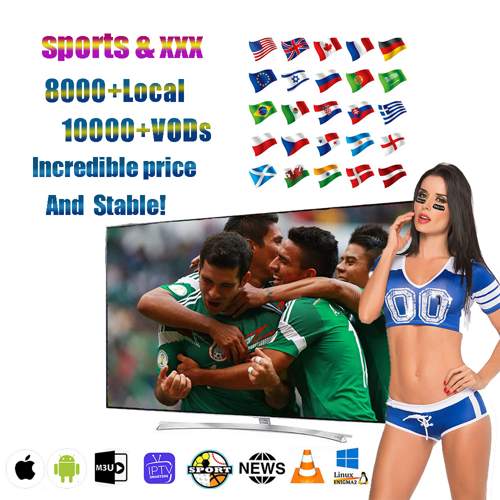 Global Live IPTV 8000 + Live Free Sports Adult XXX For TV Box  Android   SsmartTV PC M3u Local Live Movistar