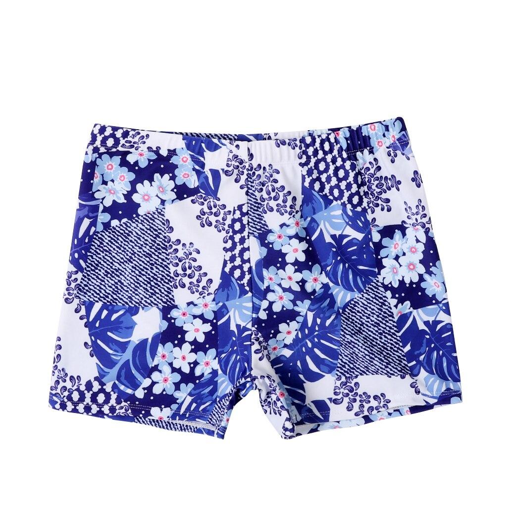 Новые плавки для маленьких мальчиков пляжные шорты для папы и меня Семейные пляжные шорты спортивный купальник Короткие штаны с цветочным рисунком - Габаритные размеры: Adult  XL