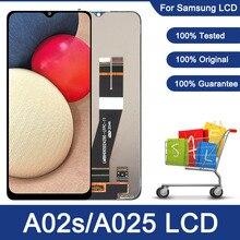 สำหรับ Samsung Galaxy A02s A025 LCD กรอบ Digitizer หน้าจอสัมผัสสำหรับ Samsung A02s A025M A025F/DS A025G/DS A025M LCD