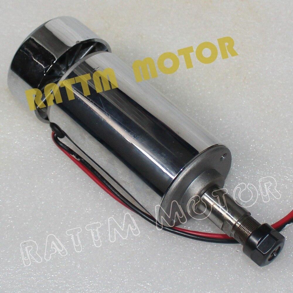 300W Air Cooled Spindle motor DC 12V-48V Spindle Motor 11000rpm with ER11 collet for CNC Milling Machine