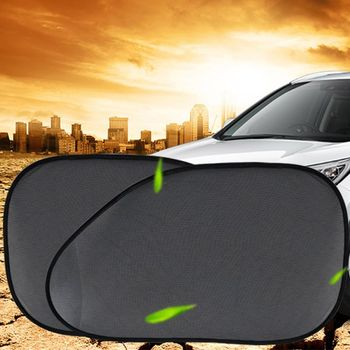 Car Window Shade Cling Sunshade Sun Glare and UV Rays Protection for Child Baby Side Automobile Sun Shades Multipurpose image
