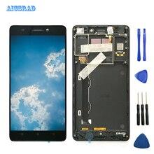 Оригинальный ЖК дисплей AICSRAD 5,5 дюйма для Lenovo K3 Note, с рамкой, дигитайзер сенсорного экрана для Lenovo K3 Note, ЖК дисплей