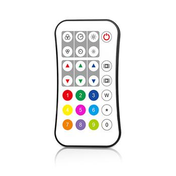 R9 jedno lub strefa RGB RGBW pilot zdalnego sterowania wielu klucz wyborem koloru dopasować jeden lub więcej odbiorniki nadaje się do RGB RGBW kontroler RF tanie i dobre opinie Lalshgx CN (pochodzenie) remote 1 zone RGB RGBW remote control Kontroler rgb 5years led light ROHS IP20