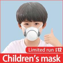 Máscara protectora para niños con filtro 10 Uds., máscara protectora para niños con filtros a prueba de polvo, filtro protector antiniebla, máscara de seguridad lavable para la boca
