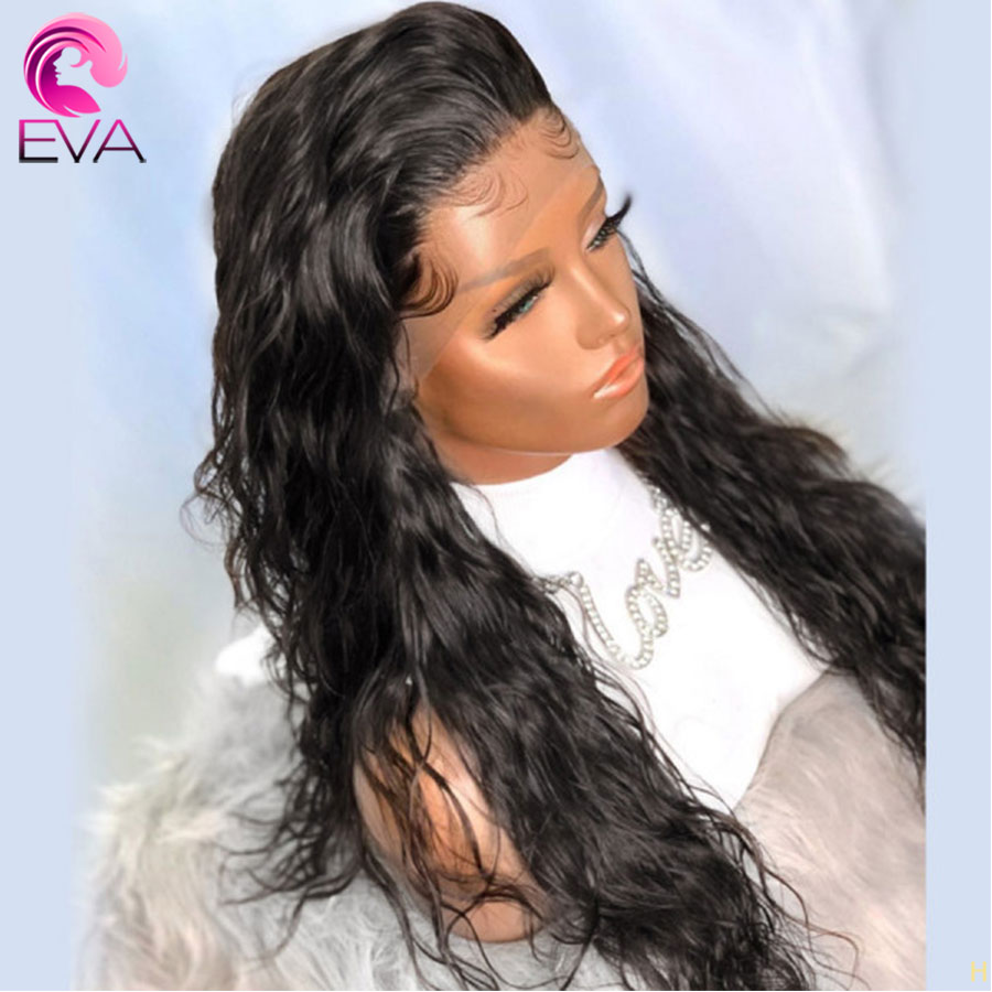 Eva Hair Natural Wave 150% Density Full Lace Human Hair Wigs Pre Plucked With Baby Hair Brazilian Remy Hair Wigs For Black Women