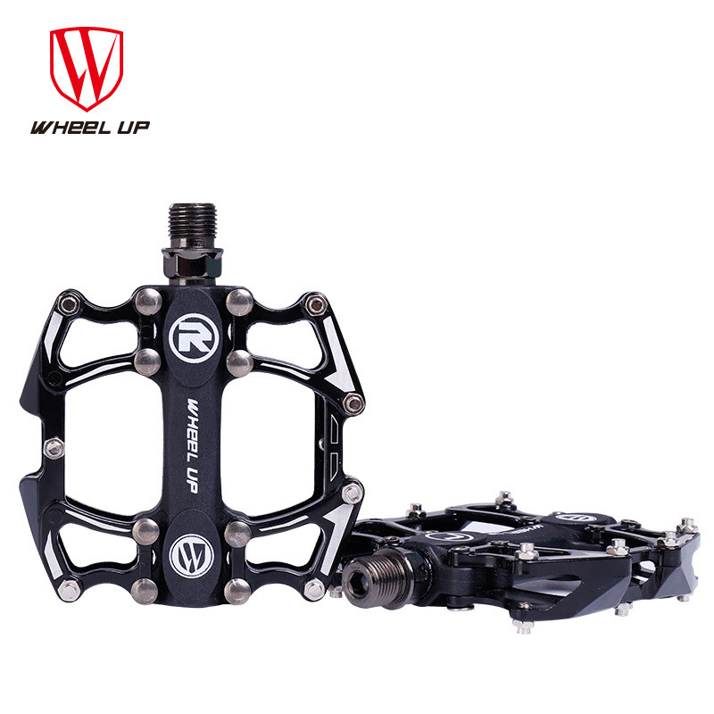 Non-slip Bicycle Pedal MTB Road totally enclosed Bearing Aluminum  Ultralight Pedal Bike Parts
