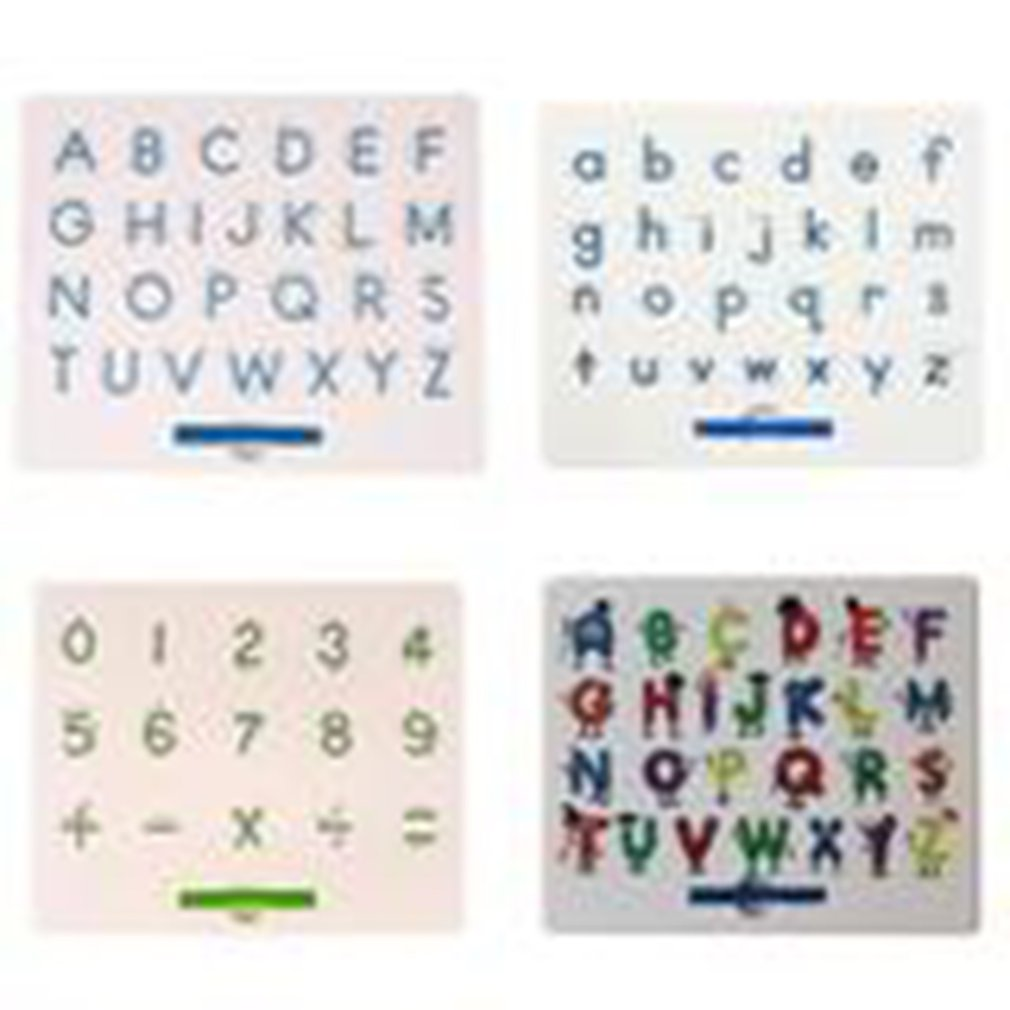 Magnetic Drawing Board Magnet Letter Board Puzzle Magnetic Board Magnetic Steel Ball Letter Board Early Education Tool in Drawing Toys from Toys Hobbies