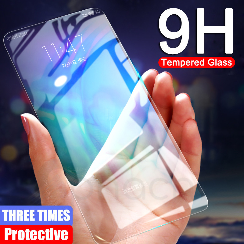 9H Anti-Burst Protective Glass For Huawei Honor 9X 8X 8A 8C 20 9i 10i 20i V20 V10 V9 Play Tempered Screen Protector Glass Film