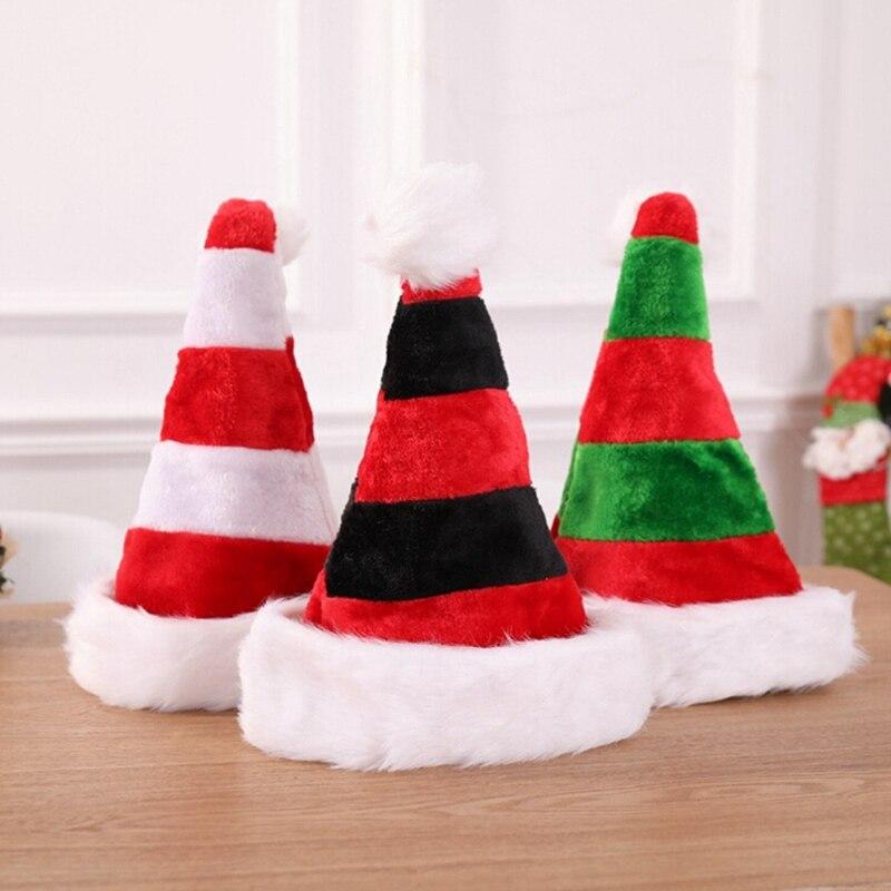 Child Plush Santa Hat