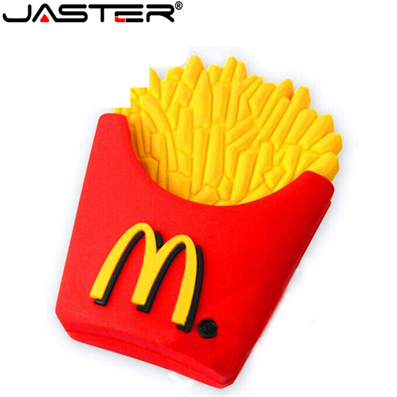 JASTER Food Chips USB Flash Drive Pen Drive Cool Gift Hot Sale Cartoon 4GB/8GB/16GB/32GB/64GB Pendriver Memory Stick U Disk