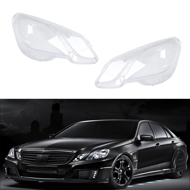 Car Clear <font><b>Headlight</b></font> Lens Cover Replacement <font><b>Headlight</b></font> head light lamp Shell Cover for Mercedes-Benz <font><b>W212</b></font> E200 E260 E300 E350 2009 image