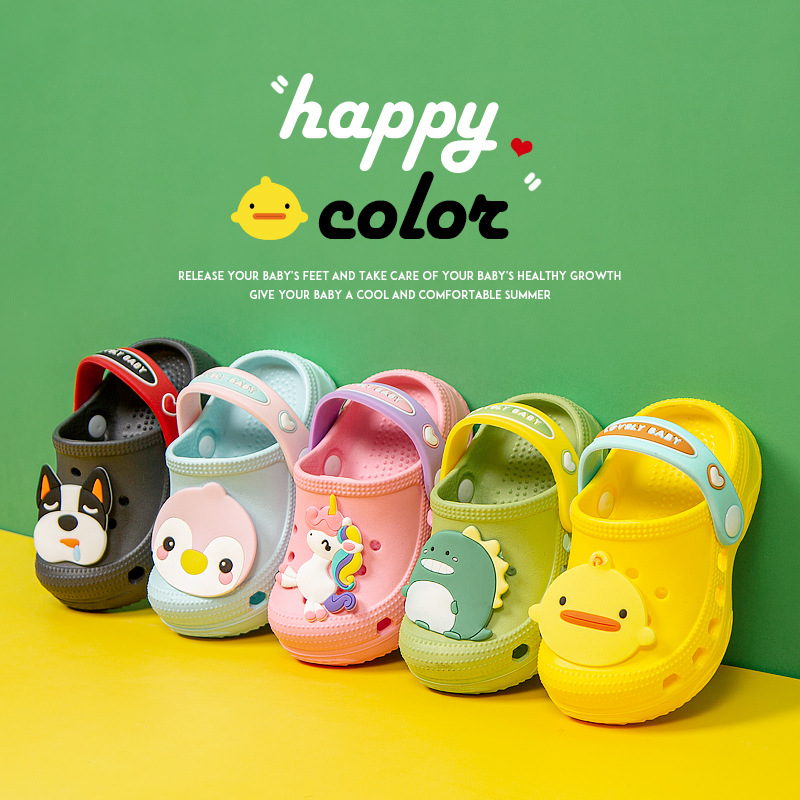 2020 Summer Children's Shoes Sandalias Soft Bottom Beach Shoes Baby Baotou Children's Sandals Summer Sandals Boys Sandal Sandals
