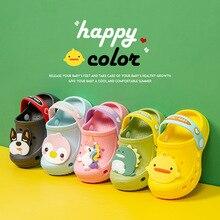 2020 летняя детская обувь; sandalias; Пляжная обувь с мягкой подошвой; Детские сандалии; Летние сандалии для мальчиков; Сандалии