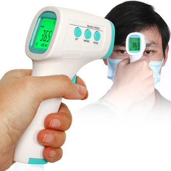 Digital LCD Infrared Thermometer NO-contact Temperature Meter for Adult Baby H99F