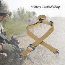 Lixada Регулируемый военный ремень с двумя точками, слинг для охоты с QD быстроразъемным слотом, армейский тренировочный пояс для активного отдыха