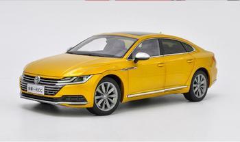 1/18 escala VW Volkswagen nueva CC 2018 oro fundido juguete de modelo de coche colección