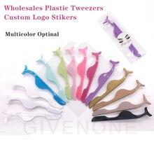 Tweezers Wholesale Lash-Clips Private-Label Plastic In-Bulk Custom Logo 10/20/30-/..