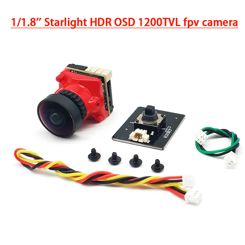 5.8Ghz 25mW//200mW//600mW FPV Dual Camera System 700TVL WDR Mini Two Cameras