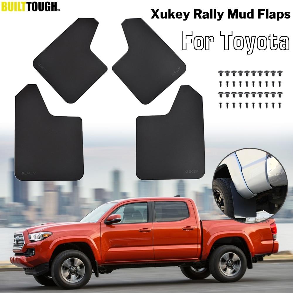 for Camry 2006-2013 4pcs Mud Flaps Splash Guards Plastic Mudguards Mudflaps Car Bottom Protection