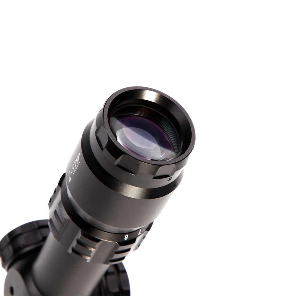 2 8x20 tactical riflescopes caça ao ar
