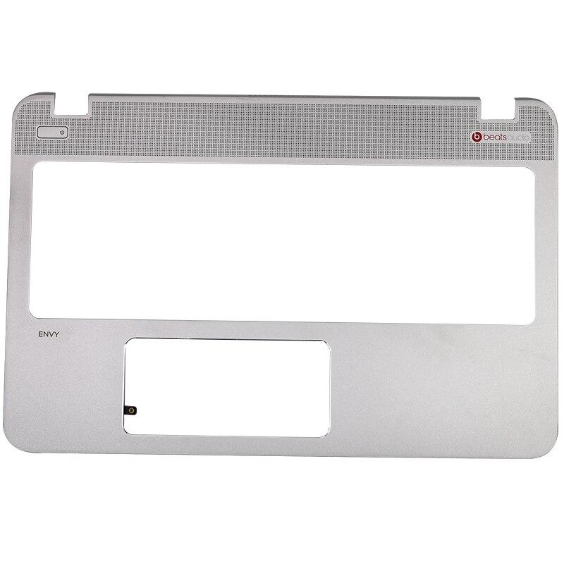 Used For HP ENVY15-Q M6 M6-N 15Z-Q 15Z-Q100 Laptop Palmrest Upper Case 774153-001 760040-001 812188-001Silver Keyboard Bezel