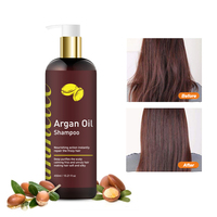 IMMETEE 450ml argan oil hair Shampoo Deep Cleansing Nourishing Hair Cleanser Vitamin Essence Repair Keep hair Shaping 2