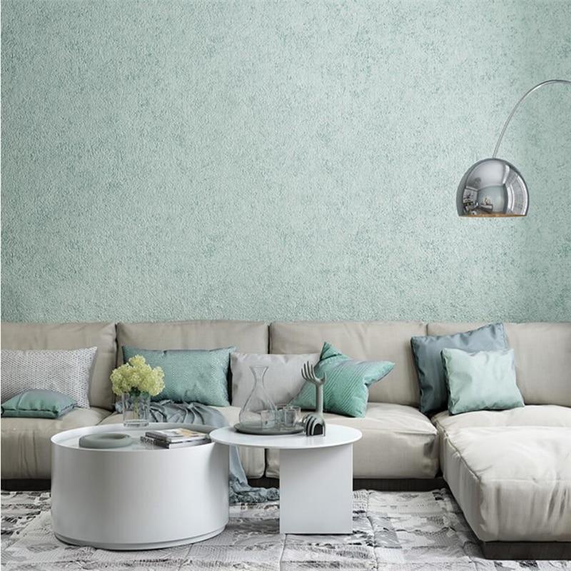 Wellyu New Modern Minimalist Nordic Style Wallpaper Pure Color Diatom Mud Wallpaper Yellow Blue Living Room Bedroom Wallpaper