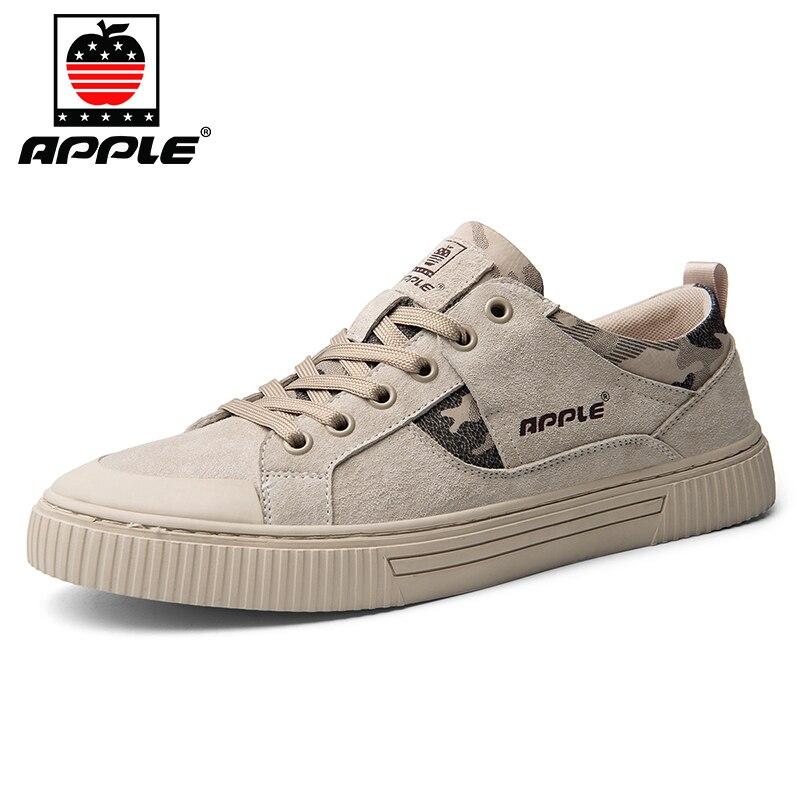 Купить бренд apple 2020 зимняя мужская обувь из натуральной кожи высококачественная