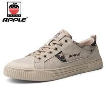 Бренд apple 2020 Зимняя мужская обувь из натуральной кожи Высококачественная