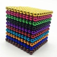 1000 шт. 3/5 мм магнитных шариков cubo Сделай Сам Магический кубик собрать магнит, Магический кубик, прочная конструкция игрушки Творческий неодимовый магнит