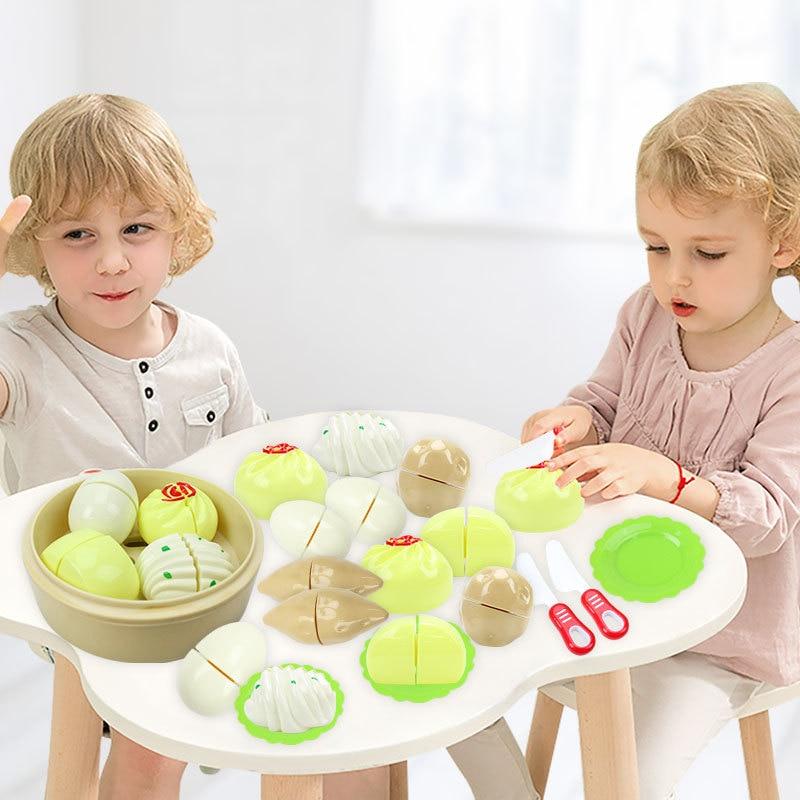 2019 кукольный домик кухня дети ролевые игры пластиковый маленький Пароварка имитация еды паровой хлеб кухонные игрушки набор для детей