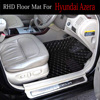 Rechterhand Drive/Rhd Voor Honda Accord 7th 8th 9th Generatie Hrv Vezel Fit Crv CR-V Stad 5D Auto -Styling Tapijt Tapijten Liners