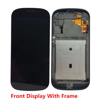 Original For Yotaphone 2 YD201 YD206 Back Front LCD Display Digitizer Frame Touch Screen Assemblely Yota2 Rear Display