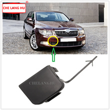 Fit For Skoda Superb Sedan & Combi 2008 2009 2010 2011 2012 2013 Car-styling  Font Bumper Trim Tow Eye Hitch Cover Not Paint