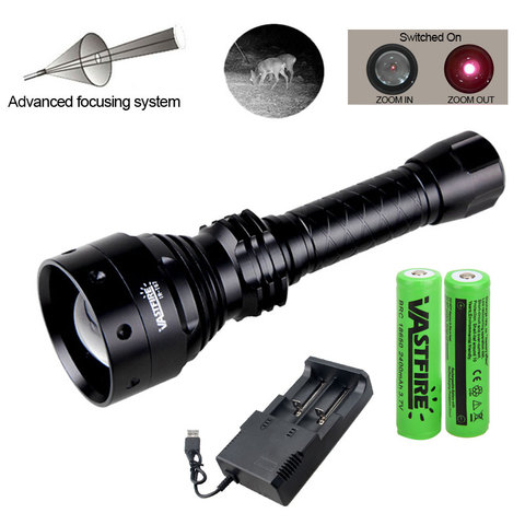 metros 70mm lente zoomable caca infravermelha predador